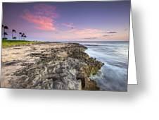 Hawaiian Edge Greeting Card