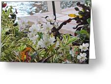 Hawaiian Garden Greeting Card