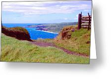 Hawaiian Hilltop Greeting Card