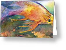 Hawaiian Longfish Greeting Card