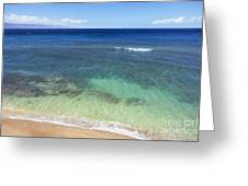 Hawaiian Ocean Greeting Card