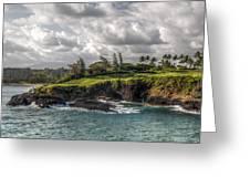 Hawaiian Shores Greeting Card