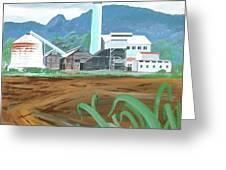 Hawaiian Sugar Mill Greeting Card