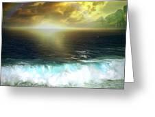 Hawaiian Landscape 12 Greeting Card