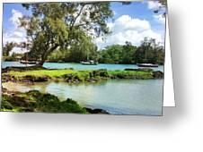 Hawaiian Landscape 5 Greeting Card