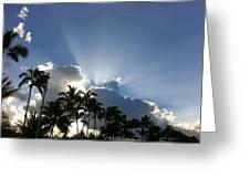 Hawaiian Landscape 16 Greeting Card