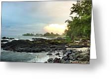 Hawaiian Landscape 17 Greeting Card