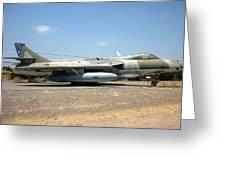 Hawker Hunter Fga 9. Fach 744 Greeting Card