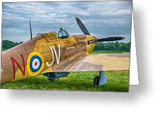 Hawker Hurricane 7d08c Greeting Card
