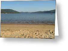 Hawksbury River From Dangar Island Greeting Card