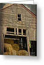 Hay For Sale Greeting Card