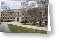 Hayes Hall Osu Greeting Card