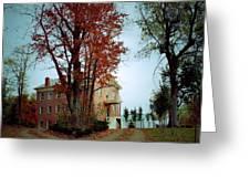 Hayesville Academy Vermillion Institute Greeting Card
