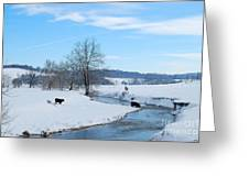 Hays Creek Winter Greeting Card