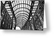 Hay's Galleria Roof Greeting Card