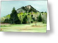 Haystack Mountain Castle Hill Me Greeting Card