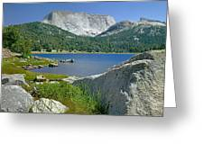 Haystack Mountain Greeting Card