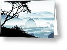 Haystack Rock - Canon Beach Greeting Card
