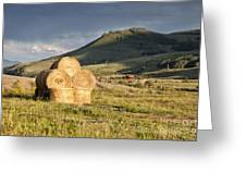 Haystack Greeting Card