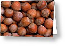 Hazelnuts Greeting Card
