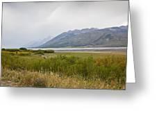 Hazy Day - Grand Teton National Park - Wyoming Greeting Card