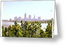 Hazy Summer Afternoon At The Lake Greeting Card