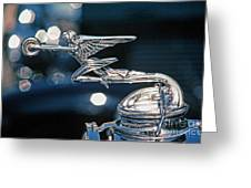 Hdr Hood Ornament Greeting Card