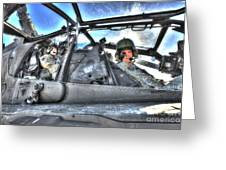 Hdr Image Of Pilots Equipped Greeting Card