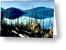 He Leads Me Beside Still Waters Greeting Card
