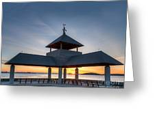 Head Island Pavillion Greeting Card