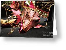 Head Of A Dragon At Leeds Carnival Greeting Card