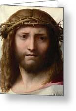 Head Of Christ Greeting Card