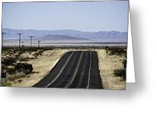 Heading For Big Bend Greeting Card