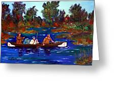 Heading For Rendezvous Greeting Card