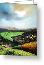 Heading To The Green Land Greeting Card