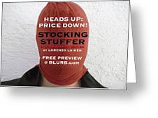 Heads Up  Price Down Greeting Card