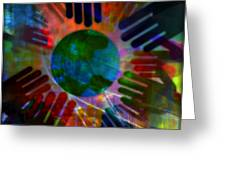 Heal The World Greeting Card