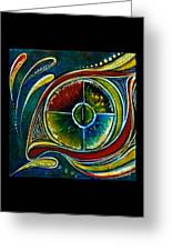 Healer Spirit Eye Greeting Card