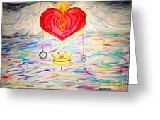 Healing In His Wings  Malachi 4 Greeting Card