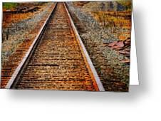 Hear My Train Comin Greeting Card