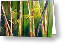 Hear The Bamboo Greeting Card