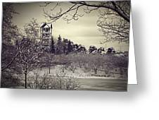 Hear The Carillon Bells Greeting Card by Julie Palencia