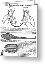 Hearing Aid, 1900 Greeting Card