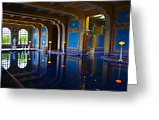 Hearst Castle Indoor Pool Greeting Card