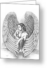Heart Angel Greeting Card
