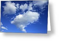Heart Cloud 4-14-12 Greeting Card