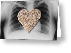 Heart Healthy Food Greeting Card
