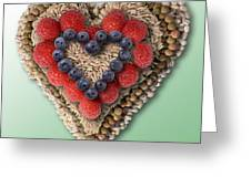 Heart-healthy Foods Greeting Card
