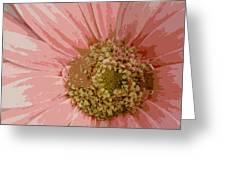Heart Of A Daisy Greeting Card