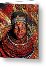 Heart Of Africa Greeting Card